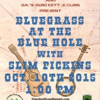 Bluegrass at The Blue Hole with Slim Pickins