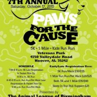 Paws for the Cause 5K / Fun Run
