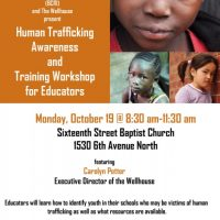 Human Trafficking Awareness and Training for Educators
