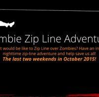 Zombie Zip Line Adventure