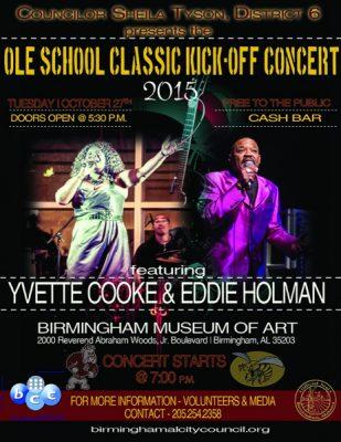 2015 Ole School Classic Kick Off Concert