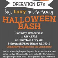 Operation 127's Big, Hairy, Not-so-Scary Halloween Bash!