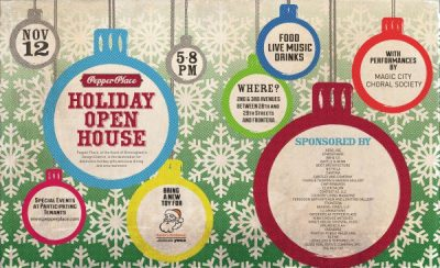 Pepper Place 2015 Holiday Open House