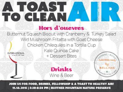 A Toast to Clean Air