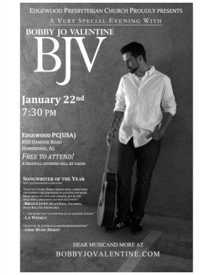 Bobby Jo Valentine - A Very Special Evening