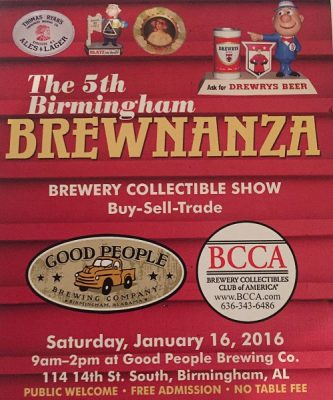 5th Annual Brewnanza Brewery Collectibles Show