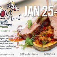 Winter Restaurant Week presented by Regions Bank