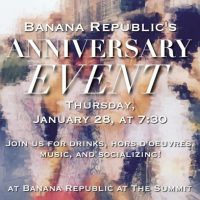 Banana Republic's Anniversary Event