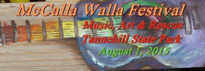 McCalla Walla Music, Art & Rescue