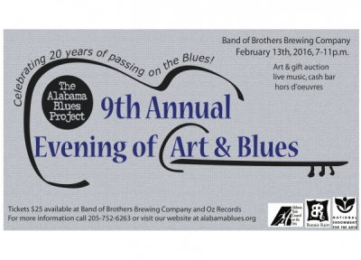 9th Annual Evening of Art and Blues