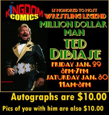 Ted Dibiase Appearance
