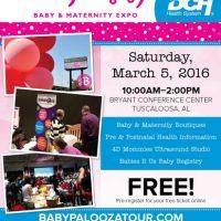 Babypalooza Baby & Maternity Expo - Tuscaloosa