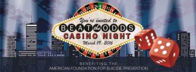 Beat the Odds Casino Night