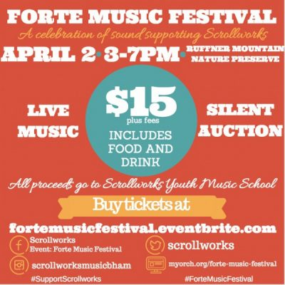 Forte Music Festival: A Celebration of Sound Supporting Scrollworks