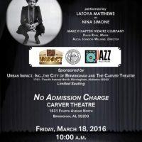 The High Priestess of Soul: Nina Simone, A One-Act Musical