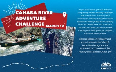Cahaba River Adventure Challenge