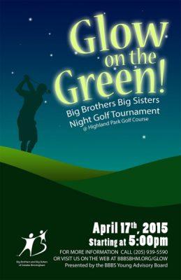 Glow on the Green Night Golf Tournament