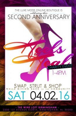 2nd Annual Heels to Heal Charity Event
