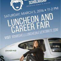 Bombshell Scholarship Luncheon and Aviation Career Fair