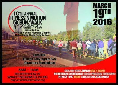 Fitness N Motion 5K Run/Walk & Health Fair