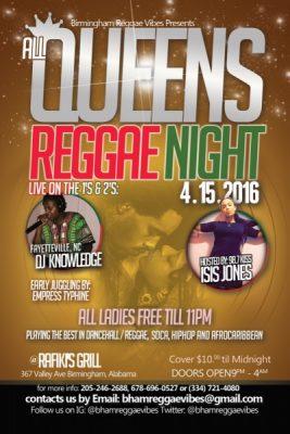 All Queens Reggae Night