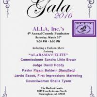 ALLA, Inc.'s 4th Annual Comedy Fundraiser Gala