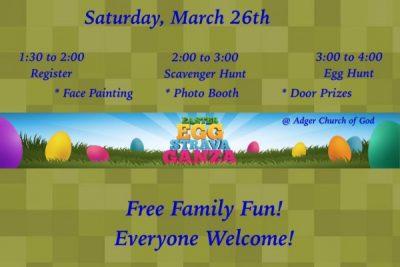 Adger Church of God Easter Eggstravaganza