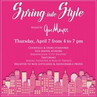 Gus Mayer's Spring Into Style