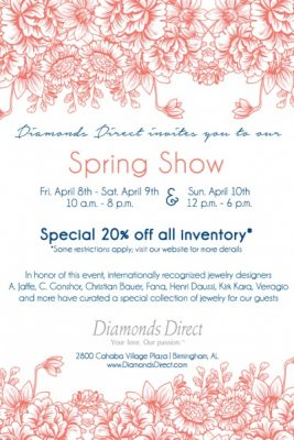 Diamonds Direct Spring Show