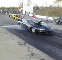 Drag racing at Lassiter Mountain Dragway