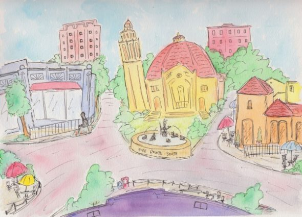 Celebrating the citys color - ironcity.ink