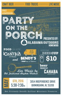 Party on the Porch - May 2016