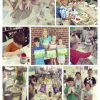 Summer Paint & Clay Camp with Jayne Morgan and Lana Hobbs