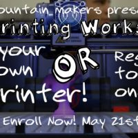 3D Printing Workshop: Build your very own 3D printer or register to win one!