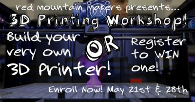 3D Printing Workshop: Introduction to 3D Printing