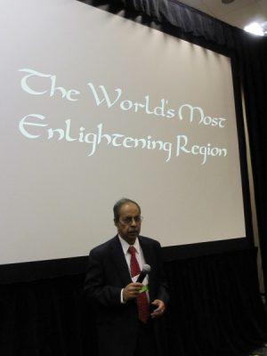 PEACE Talk: The World's Most Enlightening Region by Dr. Xavier