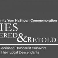 Birmingham Community Yom HaShoah Commemoriation