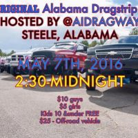 Alabama International Dragway Truck Meet