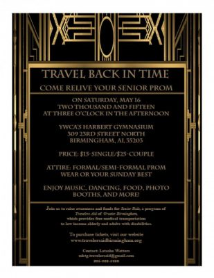 Travel Back in Time - Travelers Aid Senior Prom