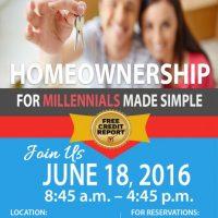Homeownership for Millennials Made Simple