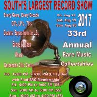 Birmingham Record Collectors 33rd Annual Record and CD Show
