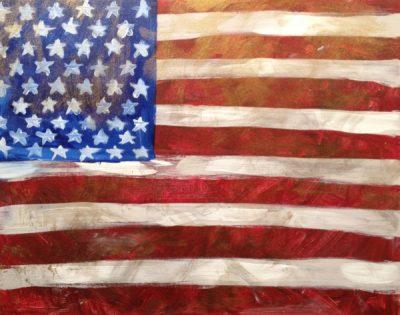 Vintage Flag Painting Event