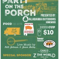 Party on the Porch - Chaco Tour