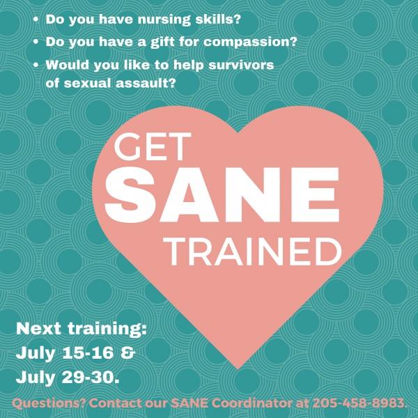 Sane Sexual Assault Nurse Examiner Training Session Presented