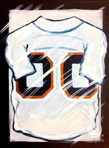 Paint Your Jersey with Dad! Customize!