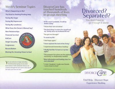 DivorceCare at Inverness Vineyard Church