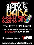 13th Annual Shake and Bake 5K