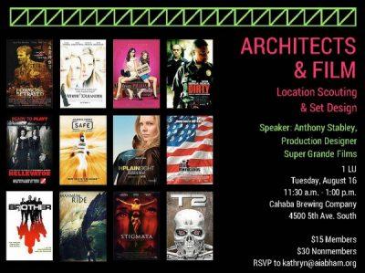 Architects & Film: Location Scouting & Set Design
