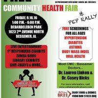 Cahaba Medical Care Health Fair