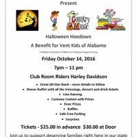 Halloween Hoedown for Vent Kids